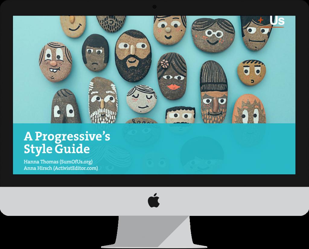 Progressives' Style Guide